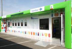 Ploiestenii pot preda uleiul alimentar uzat la stațiile SIGUREC din Carrefour. Ce recomense primesc