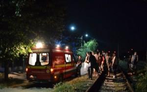 SOCANT! Barbat decapitat de tren la Homoraciu, duminica seara