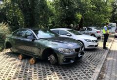 Cum a ajuns un BMW de 50.000 de euro abandonat, PE BUTUCI, în parcarea unui restaurant