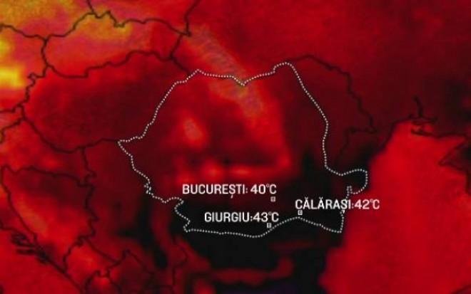 Vom avea 44 de grade la UMBRA! CANICULA loveste Romania! Un fenomen rar se va abate peste tara noastra. Nu s-a mai intamplat asta de 72 de ani