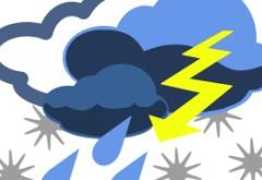 Prognoza meteo în toată țara: cod PORTOCALIU și cod GALBEN de ploi torențiale