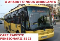 """Dupa """"Ambulanta care fura copii"""", a aparut si """"Autobuzul care fura pensionari"""""""