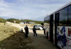 Un șofer care efectua transport de persoane pe Platoul Bucegi  a fost amendat de polițiști