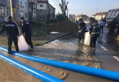 Imaginile dezastrului, in Prahova! Pompierii, eroii unei nopti de cosmar