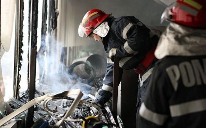 Ploiestean gasit mort in casa, in urma unui incendiu