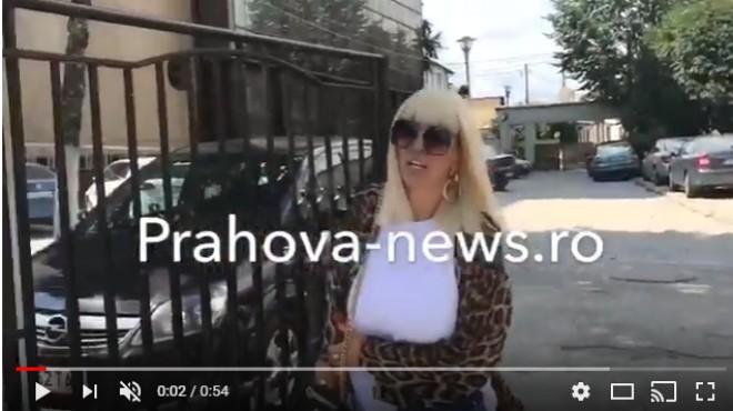 """Imagini cu Raluca Badulescu si Razvan Ciobanu la DIICOT Ploiesti. Sunt audiati in dosarul """"droguri pentru VIP-uri"""""""