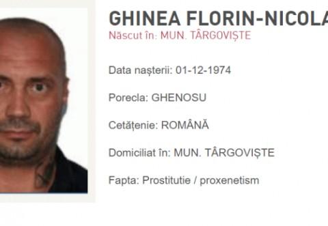 Interlopul Ghenosu, aflat pe lista celor mai urmărite persoane din România, a fost arestat la Londra