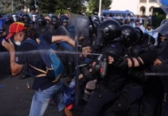 Coordonatorul INTERVENȚIEI din Piața Victoriei: Intenția era clară de a intra în sediul Guvernului