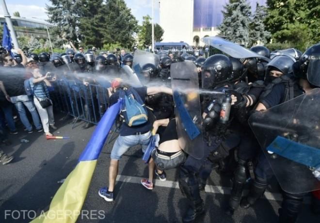 Parchetul General prezintă lista substanțelor și a muniției folosite la protestele din Piața Victoriei