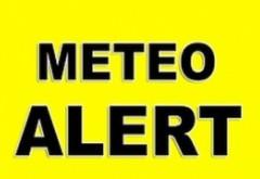 ALERTĂ METEO - Ploi torențiale până duminică seara în aproape toată țara