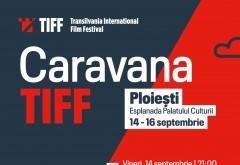 Toamna începe la Ploiești cu 3 zile de proiecții în aer liber în cadrul Caravanei TIFF