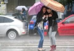 ALERTĂ METEO: România, lovită de ploi, vijelii şi frig accentuat
