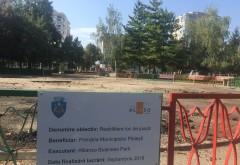 Locul de joaca din parcul Mihai Viteazu va fi modernizat