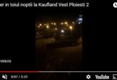 Alo, Politia Locala? La Kaufland Vest se lucreaza pe santier in toiul noptii, sub geamurile locuitorilor din blocurile alaturate
