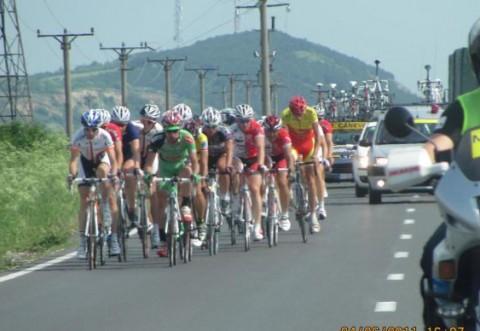 Turul Ciclist al Romaniei - Coloana de ciclisti a ajuns in Prahova/ VIDEO