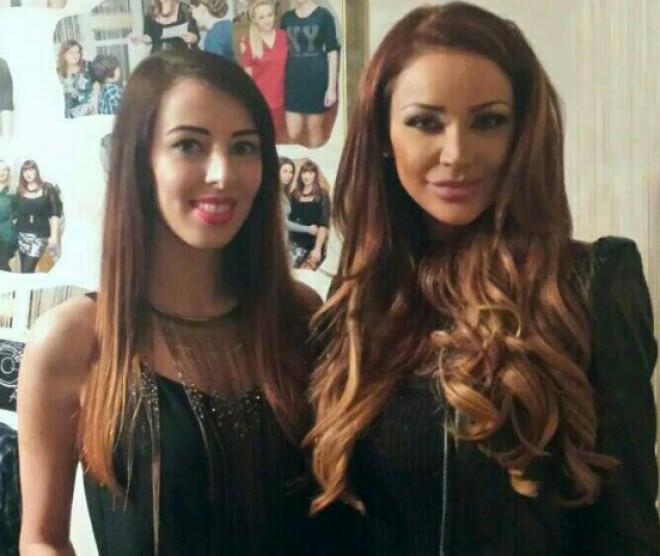 Bianca Drăguşanu, invitată la un salon de beauty din Ploieşti. Vezi FOTOGRAFII de la eveniment