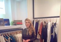 Designerul ploieştean Andra Stoican îşi vinde creaţiile într-un boutique din Capitală FOTO