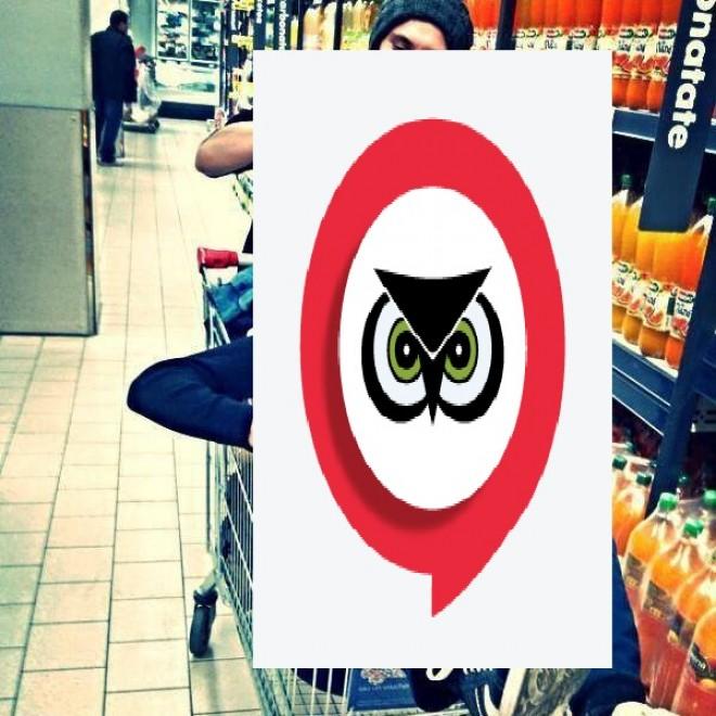 Cum se plimbă un țăran din Liceul Economic prin supermarket! FOTO