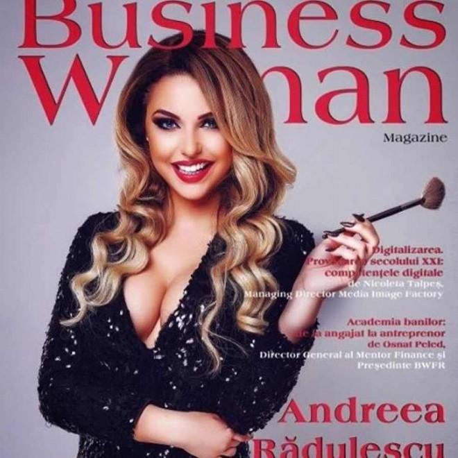 Vezi ce face antreprenoarea Andreea Rădulescu într-o zi de luni