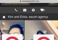 """BOMBA BOMBELOR! Imagini INTERZISE cu o tanara din Ploiesti care se vinde pe site-urile de ESCORTE! Domnisoara se """"ofera"""" la pachet cu prietena ei pentru """"threesome""""!"""