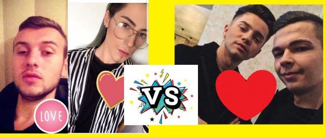 VOTEAZA cuplul GAY al anului! Ploiestenii care se bat pentru titlu sunt Vasilache&Fabian VS. Albert&Andrei