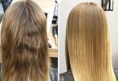 Par ars de la prea mult decolorat? OFERTA SPECIALA la Hollywood Experience Beauty Salon: Tratament Botox cu rezultat garantat pentru 6 luni!