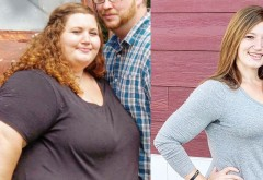A renunțat definitiv la fast-food și a slăbit 136 de kilograme