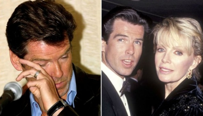 Dubla-tragedie din viața lui Pierce Brosnan. Și-a pierdut soția, dar și singura fiică în fața cancerului ovarian