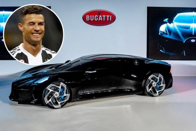 Cristiano Ronaldo, Bugatti unicat în lume, de 11 milioane € fără taxe!