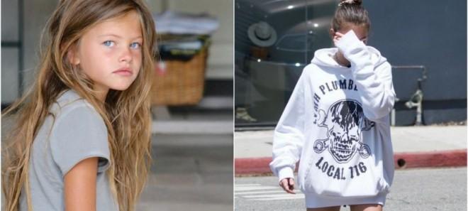 """Cum a ajuns să arate """"cea mai frumoasă fată din lume"""" la 18 ani. E fiica unui fotbalist celebru"""