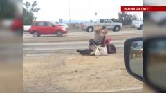 Decizia face ocolul Americii. Ce a aflat femeia batuta crunt de politistul din imagine