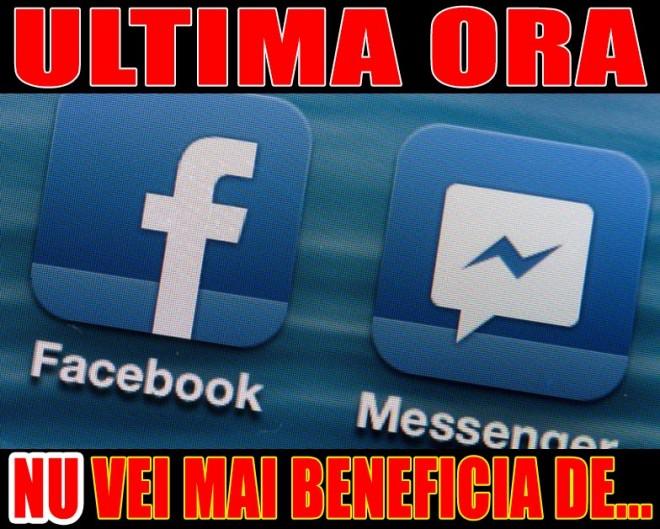Anunt de ULTIMA ORA de la Facebook. Toti utilizatorii sunt AFECTATI!  De ASTAZI, NU vei mai beneficia de...