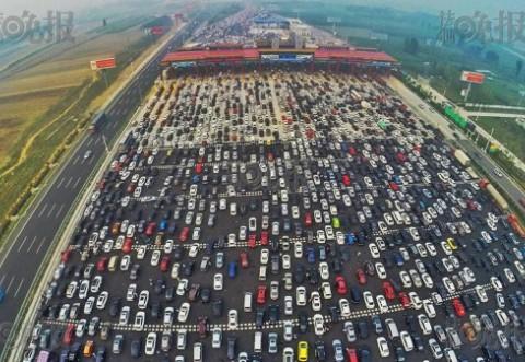 Trafic de coşmar. Blocaje rutiere demne de Cartea Recordurilor, în China