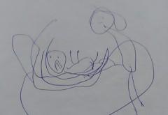 Doi parinti au ajuns in stare de soc dupa ce s-au uitat pe acest desen gasit in ghiozdanul fetitei lor. Ce reprezinta de fapt