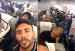 ULTIMA ORĂ!  Imagini realizate cu puțin timp înainte ca avionul fotbalistilor brazilieni să se prabușească în munți