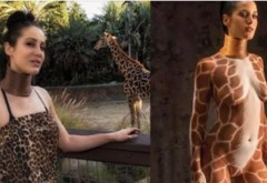 Povestea înfiorătoare a femeii care a vrut să fie GIRAFĂ. Când vei vedea cum arată acum, vei amuţi!