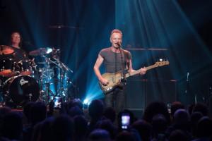 Primul concert Sting la Cluj. Artistul britanic a venit alături de bucătarul personal în Transilvania