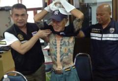 """Semnificatia ascunsa a tatuajelor """"bossului"""" YAKUZA prins dupa 14 ani de cautari. Ce reprezinta desenele sale"""