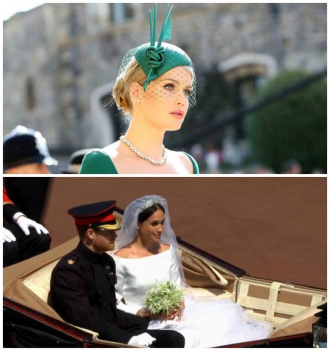 EA a fost cea mai sexy prezenta de la nunta Printului Harry cu Meghan. Cine e tanara cu tinuta verde care a atras TOATE privirile: