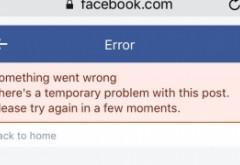 Facebook a picat și în România: Probleme la nivel global