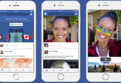 Facebook testează o serie de filtre pentru LIVE, fotografii şi video-uri VIDEO