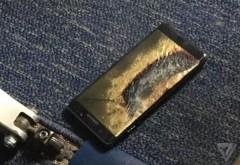 Un Galaxy Note7 inlocuit de Samsung a explodat intr-un avion