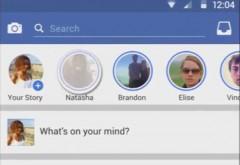 Facebook introduce Facebook Stories in aplicatia de mobil. Continutul va fi disponibil doar 24 de ore
