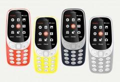 Nokia 3310 a fost relansat - Are ecran color, se poate conecta la internet si promite o autonomie foarte mare a bateriei