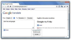 Google Translate anunţă traduceri mai precise în limba română