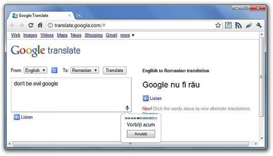 google translate romana engleza