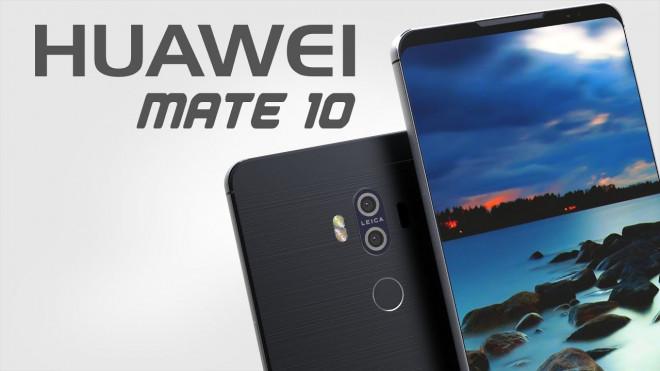Huawei a lansat modelele Huawei Mate 10 şi Mate 10 Pro