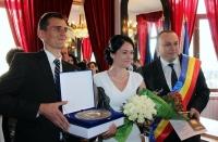 Iulian Badescu a oficiat prima cununie in noua Casa a Casatoriilor din Ploiesti