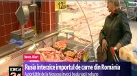 Vladimir Mănăstireanu, ANSVSA: Rusia nu importă carne de vită din România. Este singura țară care a reacționat