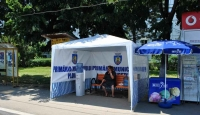 Un nou punct de distribuire de apă potabilă la sediul Poliției Locale Ploiești